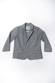 The Huckleberry Blazer | Pinstripe Chambray https://18waits.com/products/hopper-hunter-huckleberry-blazer-pinstripe-chambray