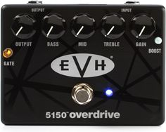 MXR EVH 5150 Overdrive - YES, YES and YES! So glad I got one. Epic!!!