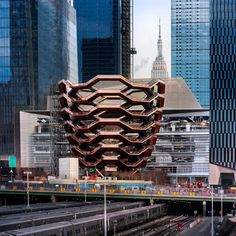Image 20 of 20 from gallery of Vessel Public Landmark / Heatherwick Studio. Photograph by Heatherwick Studio Upper West Side, Stuart Woods, Thomas Heatherwick, Yard Sculptures, Hudson Yards, New York, Get Tickets, Contemporary Architecture, Architecture Design
