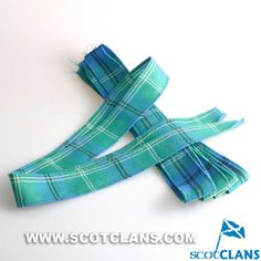 Clan Oliphant Ancient Tartan Wool Strip Ribbon