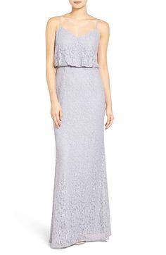 abbc70773d3 Adrianna Papell Lace Blouson Gown (Regular   Petite)