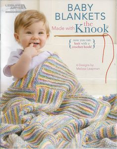 Baby Blankets Made Wioth The Knook Leisure by needlecraftsupershop, $9.99