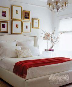 Williams Sonoma bed.