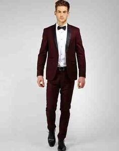 Red Wine Suit Proms Suit | Suites! | Pinterest | Red wines, Prom ...