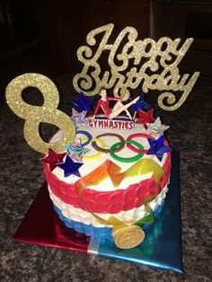 Olympic Gymnastics cake