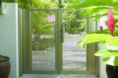 Deluxe Pedestrian aluminum alloy gate--front yard gate