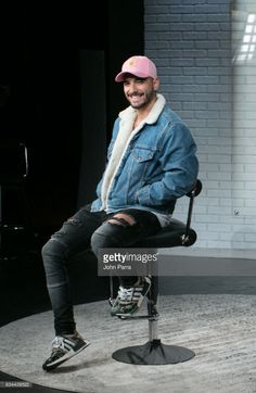 Singer Maluma visits SBS Broadcast Center and La Musica on February 9, 2017 in Miami, Florida.