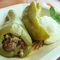 Bulgarian Stuffed Peppers Recipe…