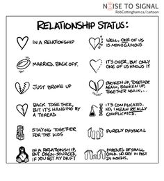 Lol :) Relationship status on Facebook!