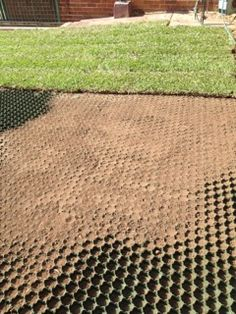 Turf driveways solutions. Turn your driveway into a healthy lawn with Grass-Cel: Australia's original Turf Paving Block for high traffic areas.