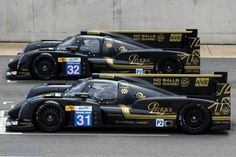 Lotus LMP2 2013 - unusual sight of both starting on the grid