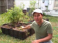 John Kohler once again, makes food gardening easy, and fun. FREE Plastic Crate Raised Bed Garden Update and Irrigation Install
