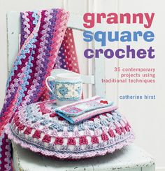 Make over 35 fabulous projects, from quick and easy scarves to mug cosies. The granny square is the starting point for many people when they first learn to crochet, but as their skills progress, this versatile crochet block is often forgotten. In Granny Square Crochet , crochet teacher Catherine Hirst presents 35 projects which show how this traditional square can be updated and used in many different ways. The first chapter has over a dozen projects for the home, ranging from a…