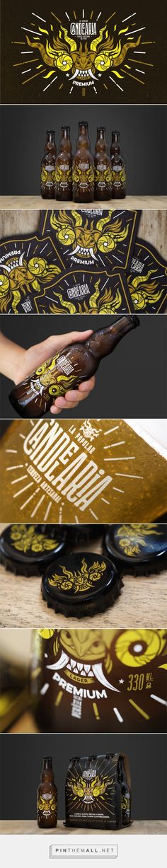 Candelaria Premium Lager Beer - Packaging of the World - Creative Package Design Gallery - http://www.packagingoftheworld.com/2017/05/candelaria-premium-lager.html