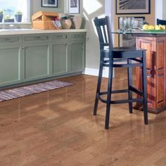 Millstead Moonstone Plank 13/32 in. Thick x 5-1/2 in. Wide x 36 in. Length Cork Flooring (10.92 sq. ft. / case)