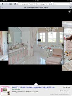 Lisa Vanderpump closet/bath