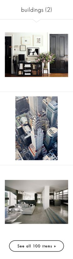 """""""buildings (2)"""" by noviii ❤ liked on Polyvore featuring backgrounds, pictures, photos, interior, home, new york, city, detail, embellishment and rooms"""