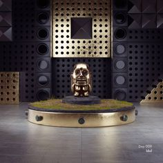 Day 009: Idol #daily #cinema4d #c4d #octanerender #artwork #artdirection #design #3d #cgi #cg #digitalart #movies #indianajones #raidersofthelostark #idol #tirbute #golden #goddess #relic #temple Idol model by Lazarus M