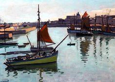The Port of La Chaume, Les Sables d'Olonne Albert Marquet - 1921