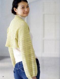 Coletes, boleros e casaquinhos de crochê - Modelos, gráficos e receitas - Fashion Bubbles — Fashion Bubbles