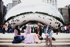 "1st february --- modeststreetfashion: "" Happy #WorldHijabDay from #ModestStreetFashion! Chicago, Illinois U.S.A. By: Langston Hues """