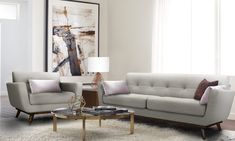 Serta Sierra Living Room Sofas Modern Design Microfiber Upholstered Couch Ideal for Smaller Spaces, Arm Chair, Smoke Gray Living Room Sets, Living Room Furniture, Home Furniture, Living Room Decor, Furniture Removal, Furniture Makeover, Modern Furniture, Furniture Deals, Online Furniture