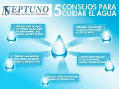5 Consejos para cuidar el agua