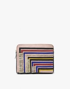 Safari Clutch in Stripe