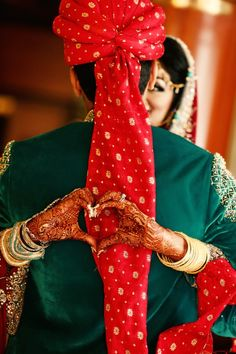 #Desi #IndianWedding Photography by Laaj Studio…
