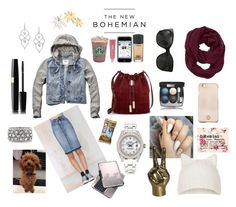 """""""The new bohemian"""" by moltofinoshana on Polyvore featuring Abercrombie & Fitch, Lauren Conrad, BLANKNYC, Vince Camuto, Rolex, Stephen Webster, Mark Broumand, Chanel, Athleta and Topshop"""