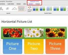 Convert #SmartArt Graphic into Shapes in #PowerPoint 2013 for Windows