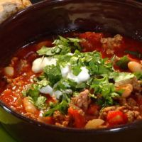 I actually make this recipe and it's one of my favorites! Chili's Southwest Chicken Chili