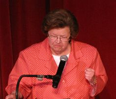Senator Barbara Mikulski. An outspoken advocate for the people of Maryland & the nation's working class. I've always admired her 'take no prisoners' style of politics. She gets the job done without the glam.