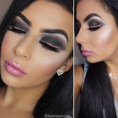 "B A R B I E 💁🏽 Glowing with @anastasiabeverlyhills Glow Kit ""Bubbly"" Lashes : @flirtylashesau ""Fantaysha"" #talkthatmakeup #thebeautybombb #vegas_nay #anastasiabeverlyhills #anastasiabrows #lillyghalichi #makeupfeed #make4glam #hudabeauty #makeupdivas #beautyblogger #beatface #muasaustralia #peachyqueenblog #fiercesociety #associationofbeauty #flawlessdolls #napoleonperdis #bridalmakeup #bridesjournal #tobeinspired #inspiremeweddings #inssta_makeup #makeuptutorials #muasaustralia #benebabes…"