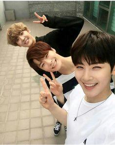 Moonbin, Sanha, Eunwoo (ASTRO) #Eunwoo #JinJin #MoonBin #MJ #Rocky #Sanha