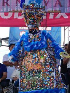 Concurso de trajes de Chinelo en Yautepec Morelos Mexico 2016