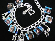 Mindless Behavior Photo Charm Bracelet by pipnbling on Etsy, $19.99