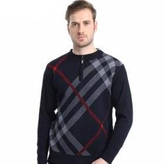 New Men's Casual Sweater for Winter - Warm and High Quality