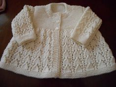 Sublime Cashmere Merino Silk Heirloom Quality Hand Knit Vintage Style Baby Matinee Jacket / Sweater Bonnet and Bootees 3 - 6 months