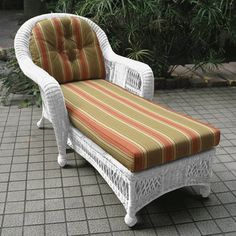 St. Lucia Replacement Cushions for Chaise Lounge