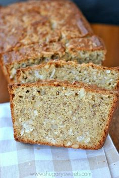 Coconut Banana Bread...turn your traditional banana bread into something incredible with macadamia nuts and coconut!