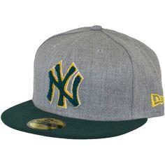 New Era Chenille Plique Cap NY Yankees green/grey ★★★★★