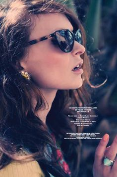 Hair and makeup done by Lorna Butler for Emirates Woman Magazine.