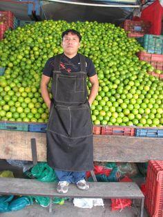 When you think of Mexico, you think of limes!  Mercado de Abastos, Mexico