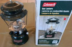 Coleman Gas Lantern 7/96 Two Mantle #288A700T Works Great Collectible Vintage #Coleman