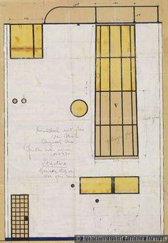 Jean-Jacques Jacobs, ontwerp woning Jacobs, Vlaamse Kunstlaan in Antwerpen (1934). photo credit: Architectuurarchief Provincie Antwerpen, found on the website: http://www.debalansvanbraem.be