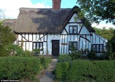 Chocolate box: The picturesque cottage lies in the village of Hempstead, Essex, where Dick Turpin was born