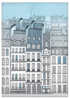Fine Art Paris Illustrations by ArtikAtelier Paris Illustration, Fine Art, Creative, Prints, Etsy, Shopping, Visual Arts, Printmaking, Figurative Art