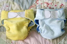 Cloth diaper tutorial with velcro closures  http://handmadebyrita.blogspot.com/2007/10/httpwww.html