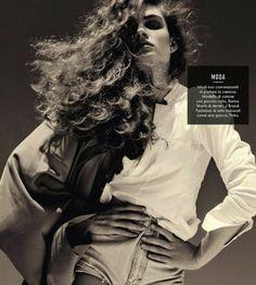 Anna Marie Reilly | Kelly Klein  #photography | Vanity Fair Italia May 2013